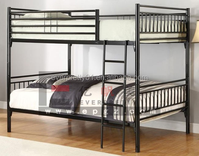 Kuwait Standard Size Double Over Bunk Beds For