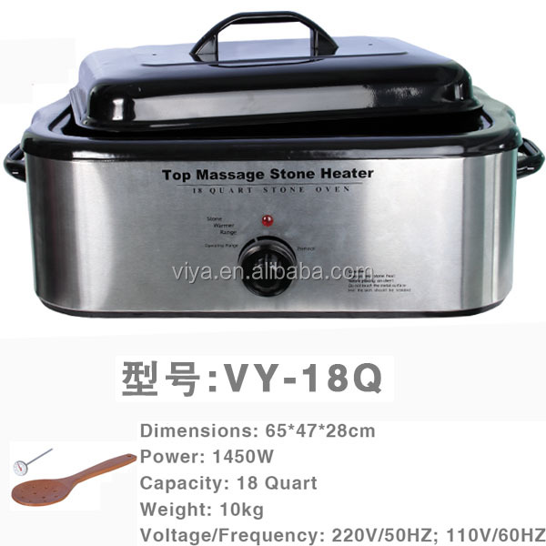 18Q massage hot stone heater