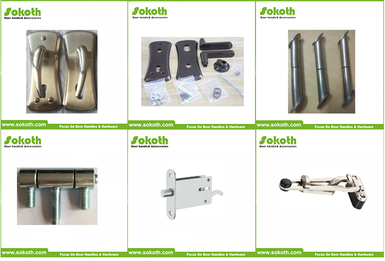 Hot selling Israel Door Handle for Wooden Door