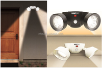 Night eyes crazy automatic led double head sense light