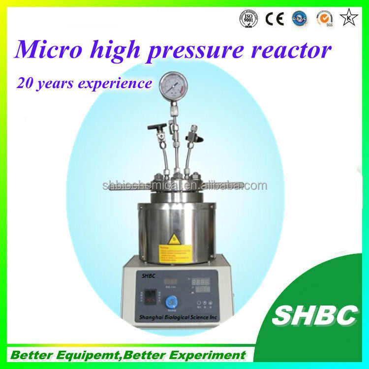 Small pressure vessels,biodiesel,hydrothermal reaction,drug synthesis, PTFE,chemical reactor