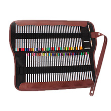 large capacity Pencil bags 36 holes and 72 holes School Supplies pencil Storage fabric pen case