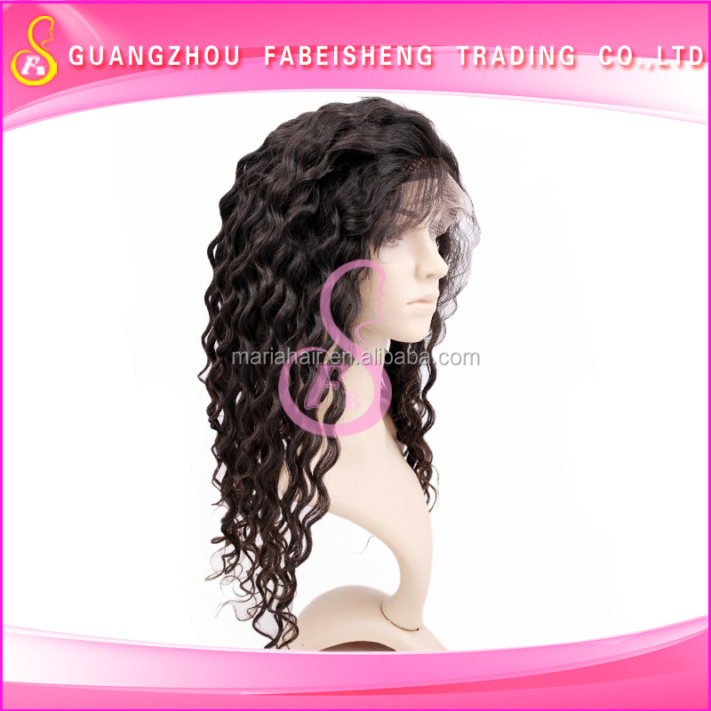 100% handmade superior quality full lace wig, premium loose wave