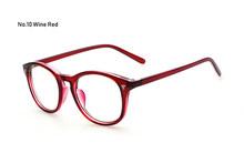 Ретро Мужские Женские винтажные овальные оправа для очков, очки, брендовые дизайнерские оптические очки с прозрачными линзами, студенчески...(Китай)