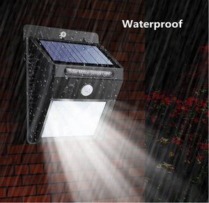 Wholesale Solar Powered Outdoor Wall Lamp with Battery built-in mini