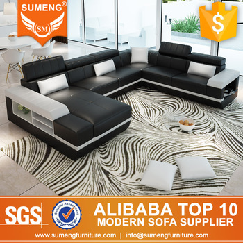 Sumeng Foshan City Furniture Manufacturers Mall U Shape Sofa