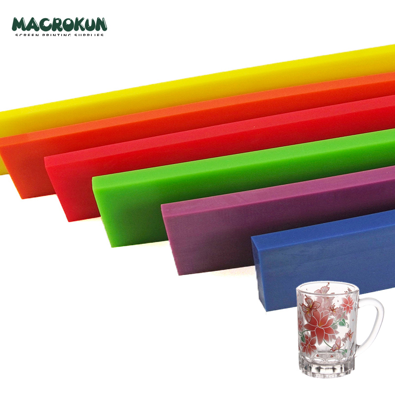 factory available in 9 x 50 mm and 5 x 25 mm aluminum squeegee for silk screen printing
