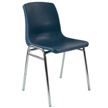 Blue School Chair advantage blue comfort stacking plastic school chairs - buy