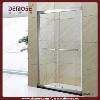 Portable Toilet And Shower Room Shower Screen Raindrop Glass Shower
