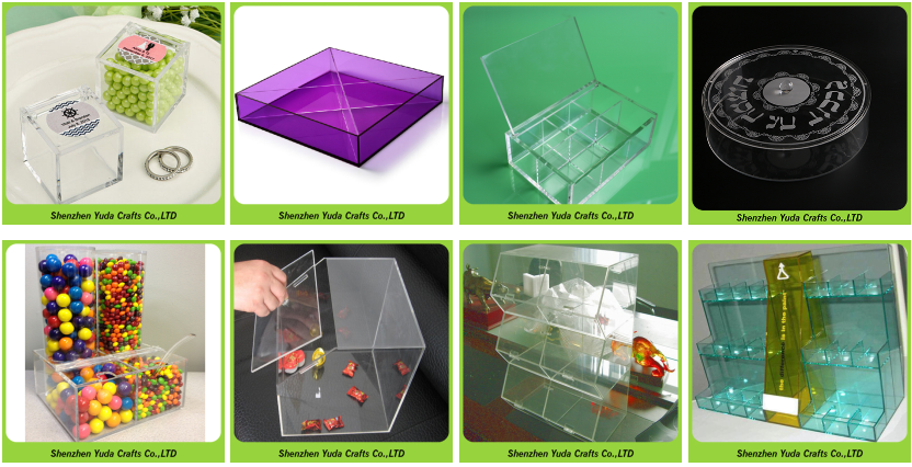 Acrylic Clear Fruit Container,Clear Round Cube Display Case ...