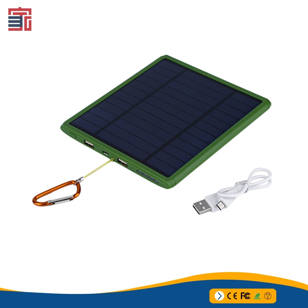 OEM manufacturer portable mobile 20000mAh mini solar power bank