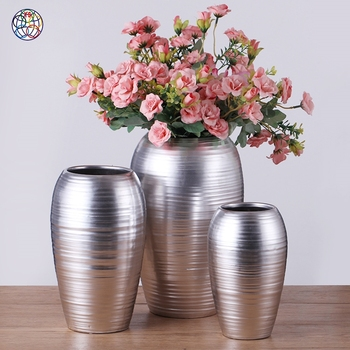 High quality flower vases handicraft porcelain modern vase for decor