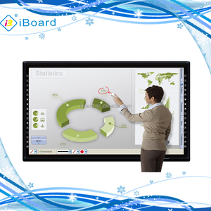 iBoard IT series 75 inch Ultra HD LED touch screen monitor interactive flat panel