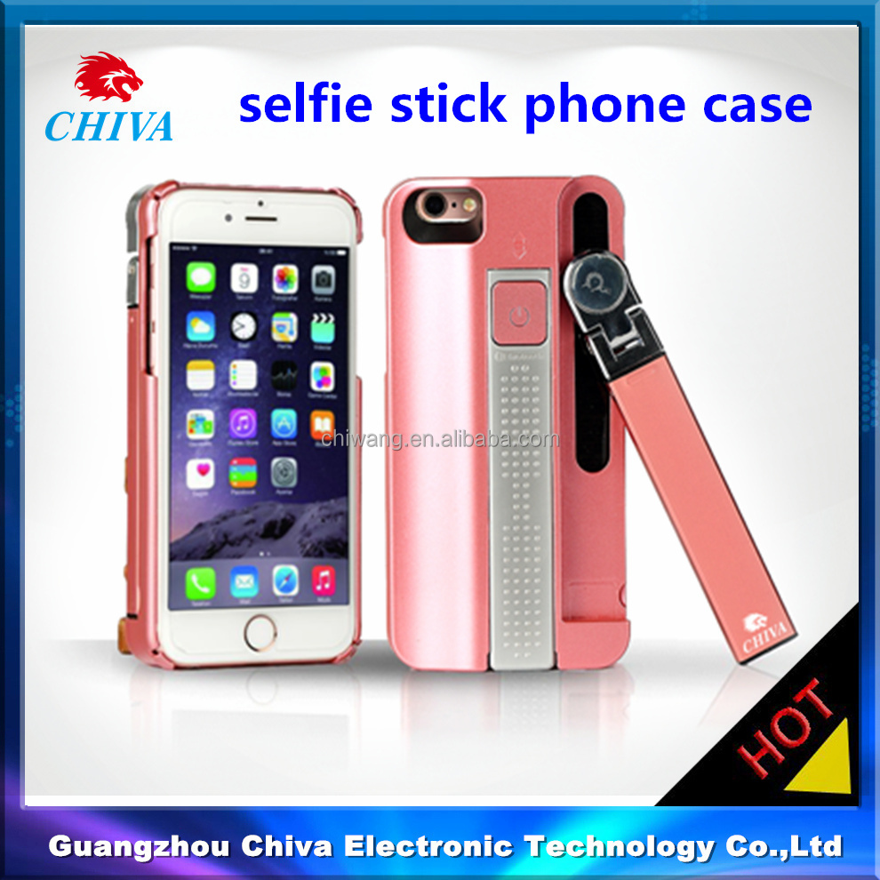 for iphone 6s phone case,cell phone case with selfie stick for iphone 6s