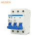 1P 2P 3P 4P miniature circuit breaker 20a 380v 415v ac mcb air circuit breaker
