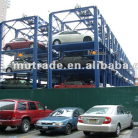 Bdp Auto Automatic Automated Puzzle Parking Lift System Lots Big Parking Equipment Automated Carport Parking Solution