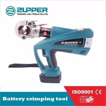 ZUPPER Battery powered clamping tools for 16-300mm2