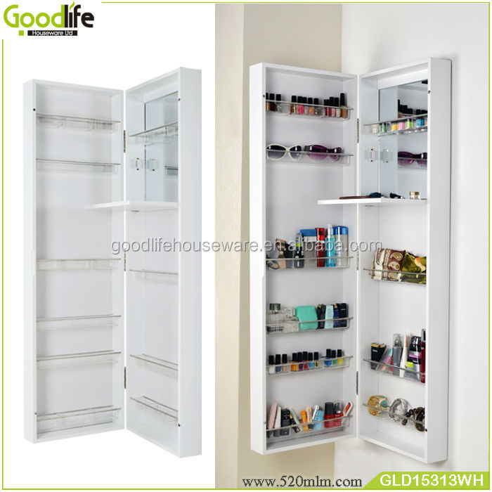 Door Ganging Or Wall Mounted Makeup Storage Cabinet With