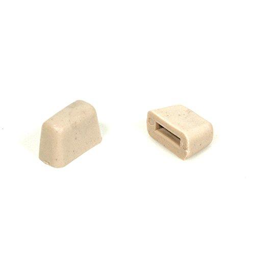 Eckler's Premier Quality Products 25-263296 Premier Quality Products, Headlight Stop Bumper| E-57028 Corvette -