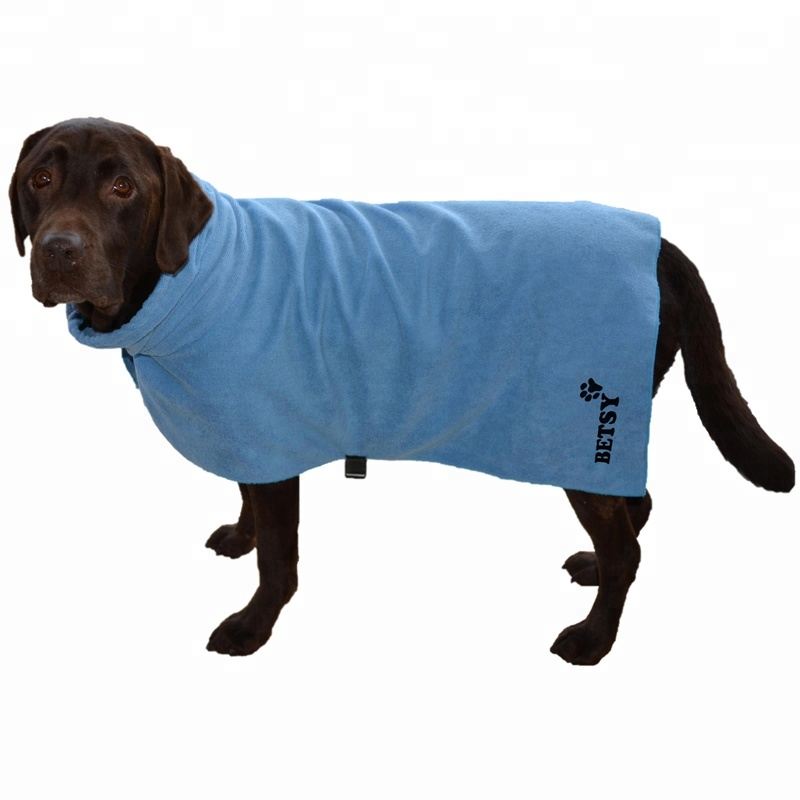 Microfiber Pet Dog Drying Beach Hooded Bath Towel - Buy Dog Drying ... 1565fb107