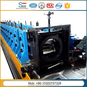 Shanghai sihua factory machine ten years not maintenance Galvanized Steel C Channel roll forming machine made in china