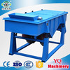 2-500mesh YQA single deck circle vibrating screen for mineral separation