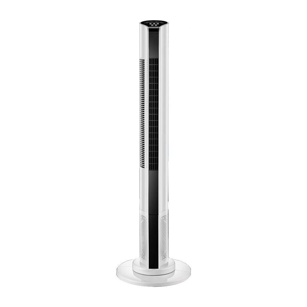 GLJ Electric Fan Tower Fan Home Silent Floor Fan Remote Control Fan Shaking Head Tower Vertical Leafless Pageless Fan Fan