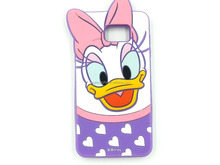 cute environmental cartoon duck and butterfly silicone cell mobile phone shells