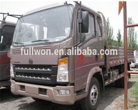 Sino howo 4X2 1 ton 3 ton lorry transport service truck for sale in malaysia / 3 ton lorry truck dimensions