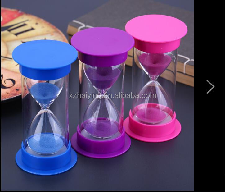 sand timer hourglass with custom logo