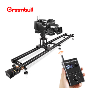 China supplier photography wireless remote control electronic motorised video camera slider for video camera