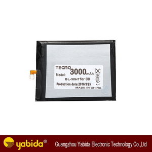 The Chinese manufacturers wholesale phone battery for TECNO C8 BL-30HT mobile phone battery 3000mAh