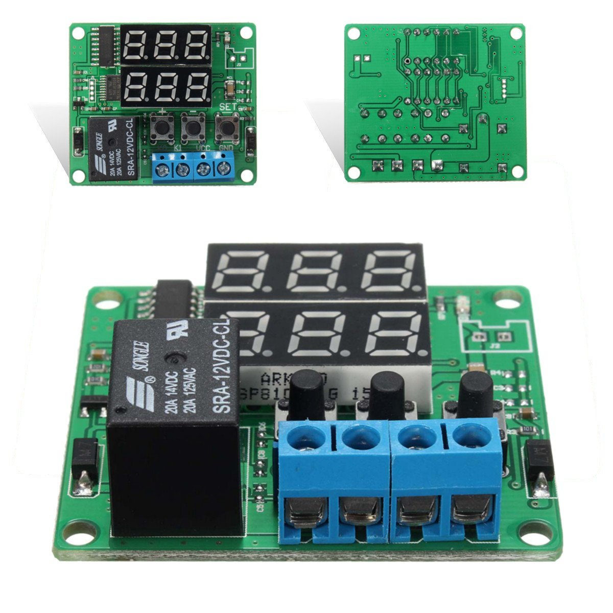 Cheap 12v Relay Timer Switch Find Deals On 1pcs Dc Delay Turn Off Module Get Quotations Bephamart Dc12v Double Digital Led Cycle Timing Time Shipped And Sold By