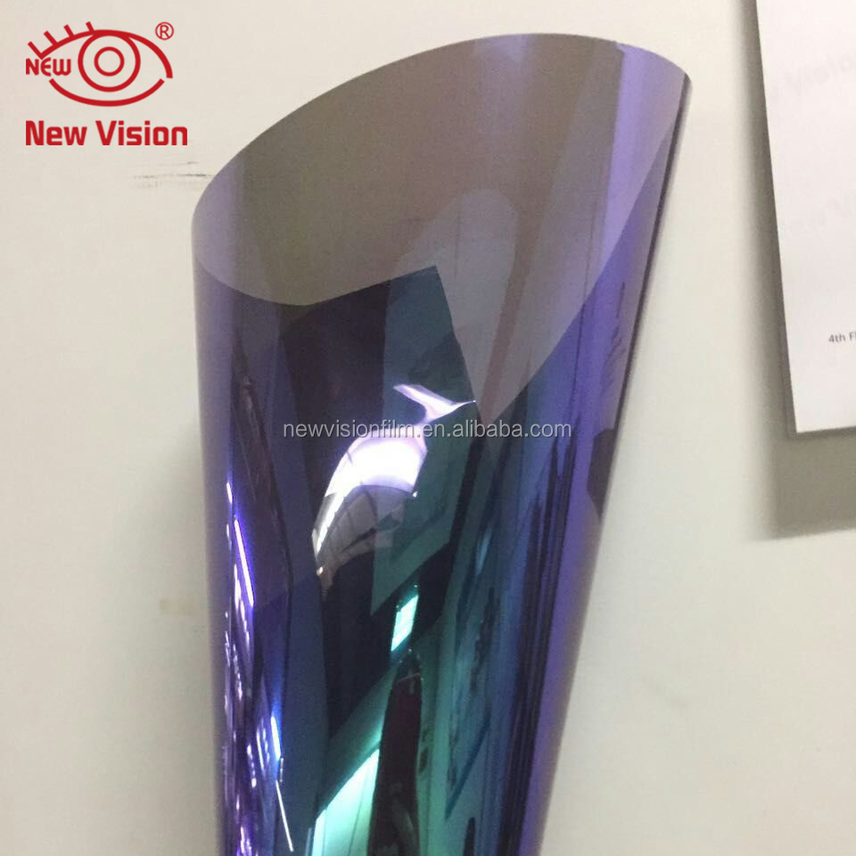 High-definition Colorful Chameleon Car Tint Vinyl Film,Changing Color Car Glass Solar Window Film