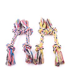2016 new trendy products wholesale pet supply mixing cotton rope dog chewing toys