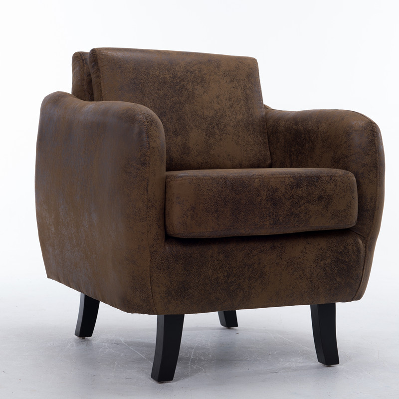 C2 Contemporary Accent Arm Club Chair, Tub Chair Living Room Furniture