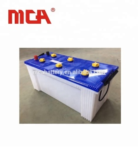 DIN dry charged car starter auto 12v 150ah car battery