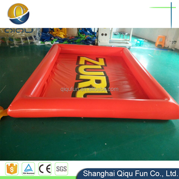 Large Colorful Round Blow Up Small Or Big Inflatable Swimming Pool For  Inflatable Pool Toys
