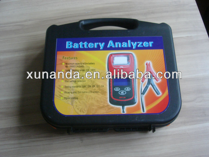 New lead acid battery cca tester with print