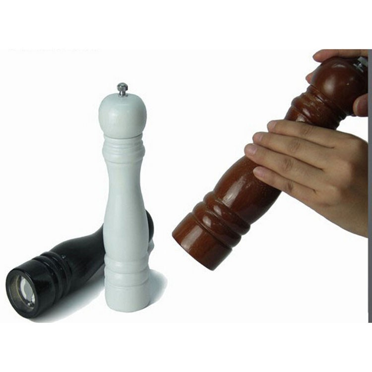 Wholesale manual wood salt pepper mill grinder in various type