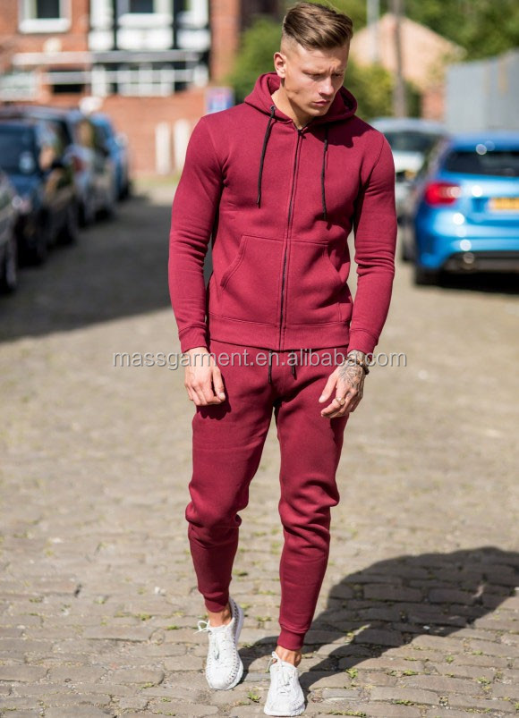 Ms-1678 Gym King Mens Plain Sportswear Tracksuit Hoodies And Pants ... 6d4babbd596f