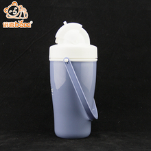 Safety health bpa free plastic sports bottles with straw+baby drinking water training sippy cup