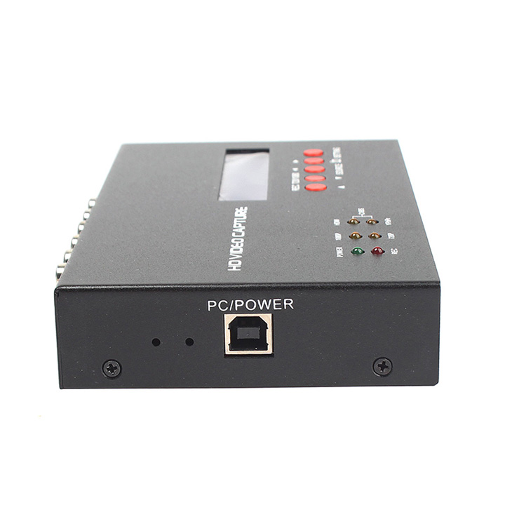 HDMI video capture support HDMI AV Ypbpr CBVS record video as 720P and 1080P with MIC input Scheduled recording ezcap283S