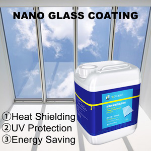 NACUBE Nano Coating IRUV cut coat thermal insulation paint hydrophobic coating for glass