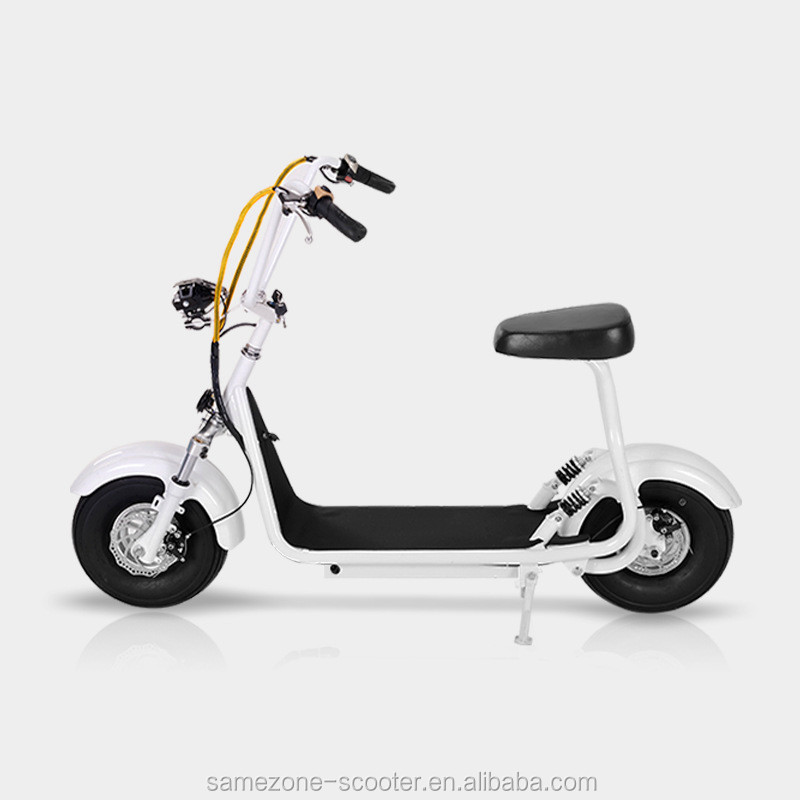 Factory Newest Mini harley electric scooter 500w/800w Junior version City Coco Electric Scooter