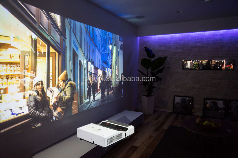 Home Cinema 4k Throw Ratio 0.32:1 80 Inches Image At 0.2m School ...