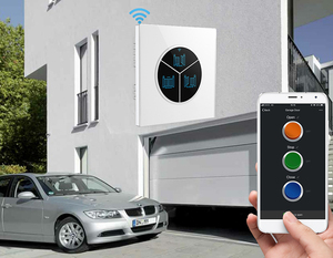 Roller shutter glass garage door remote with WIFI