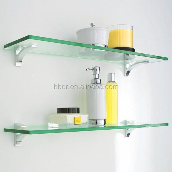 Wholesale Glass Shelf Bracket Glass Holder / Corner Shelves For ...