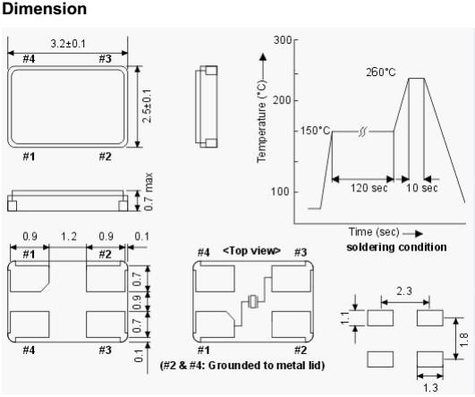 cuarzo cristales piezoel u00e9ctricos 3225 smd oscilador 26 mhz
