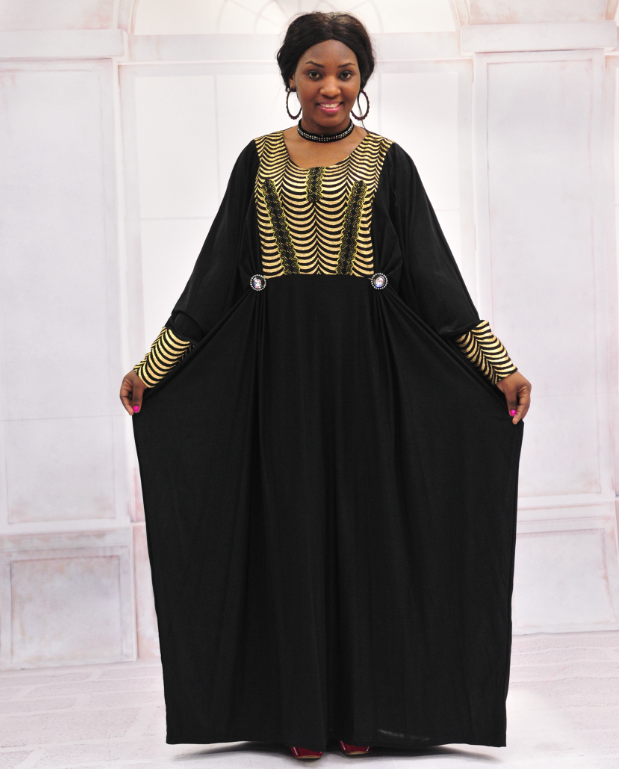 Hot sale islamic clothing baju muslim abaya dress african simple black abaya